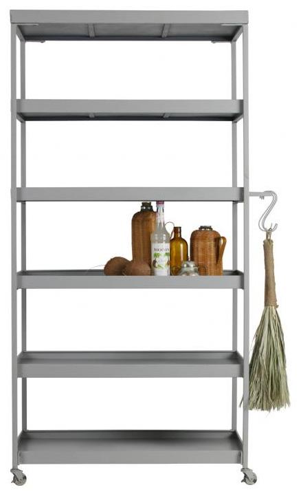 Decoratie-bakkerskast-trolley-decoreren-stylen-interieur-vaas-droogbloemen-beeld