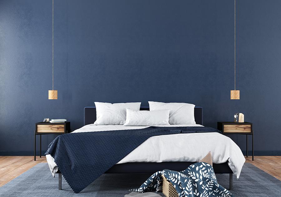 Donkerblauw Interieur Luxe In Huis 100 Woongeluk