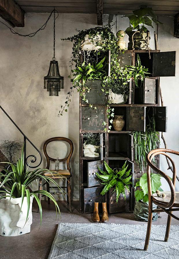 Groen interieur groen in huis meer groen in huis groene woonaccessoires groen industrieel interieur