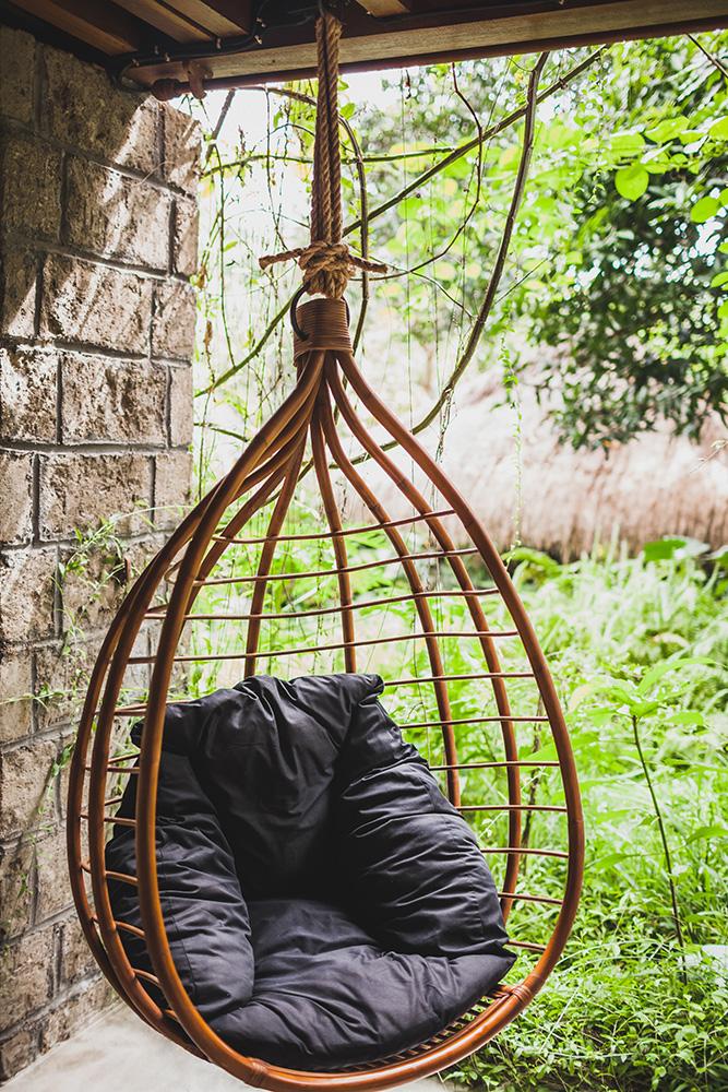 Hangstoel binnen buiten relaxen swinging chair