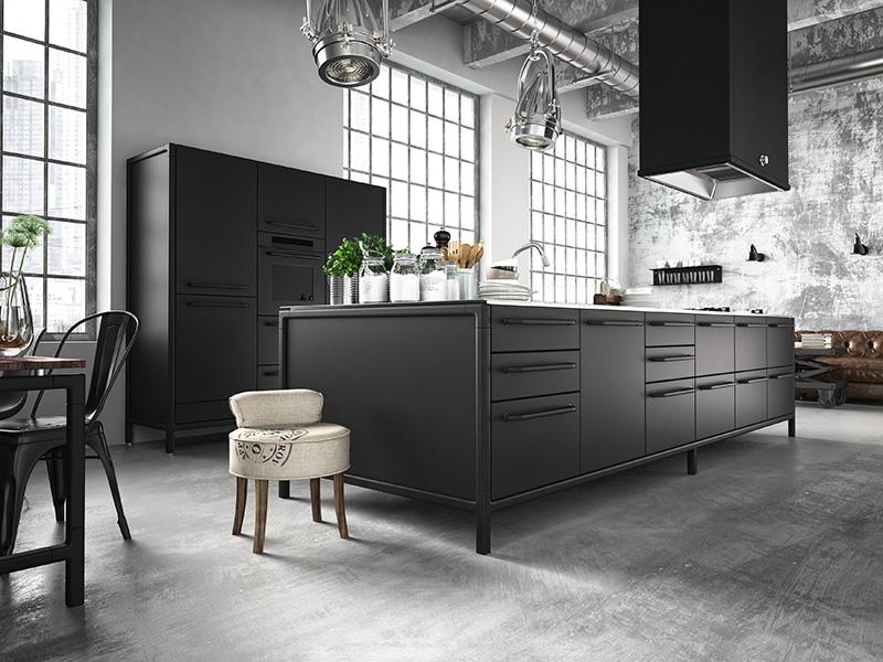 Zwart wonen zwart interieur zwarte keuken zwart wit wonen zwart wit woonkamer zwarte eetkamer black interior