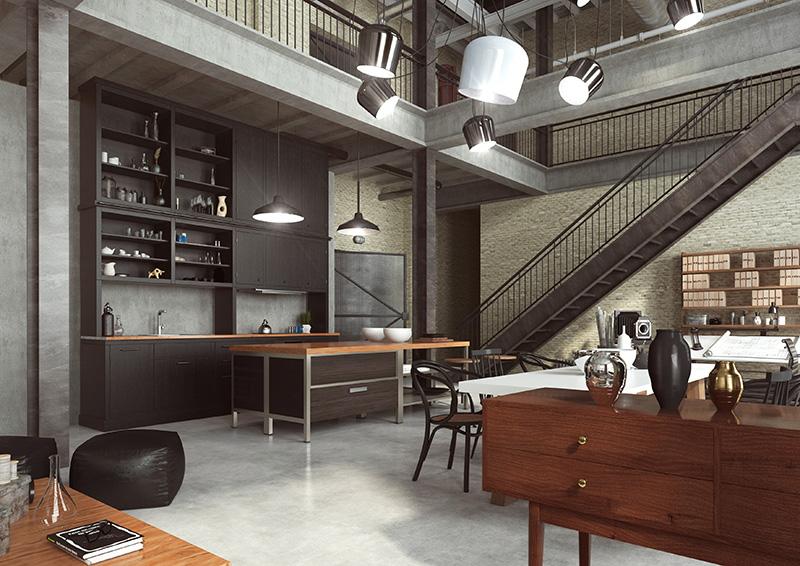 Loft appartment loft interieur loft inirchting loft inrichten industrieel interieur industriele inrichting industriele woonstijl vintage-1