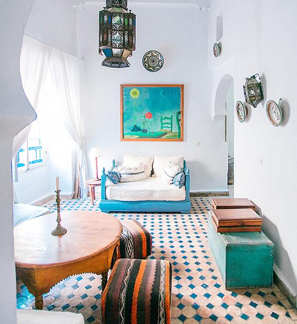 Bohemian-interieur