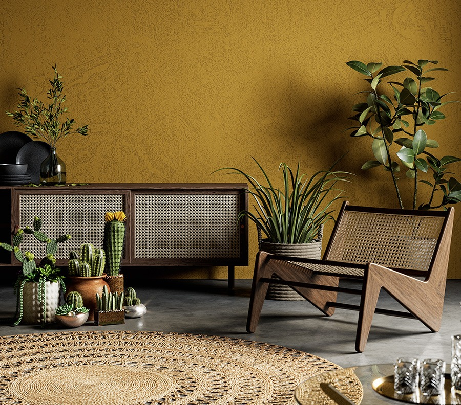 Botanisch interieur groen wonen groen in huis groene woonkamer planten in huis botanische interieurstijl
