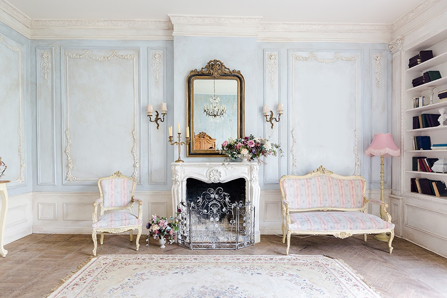 Romantisch interieur romantische woonkamer romantische wooninspiratie