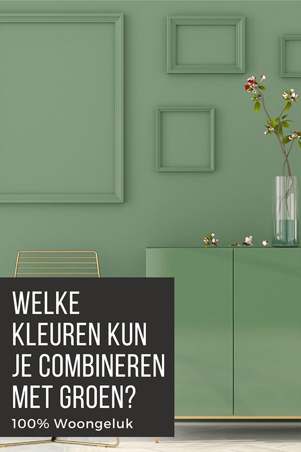 groen combineren kleuren groen in huis groene muur groene woonkamer groen wonen groen interieur olijfgroen mintgroen