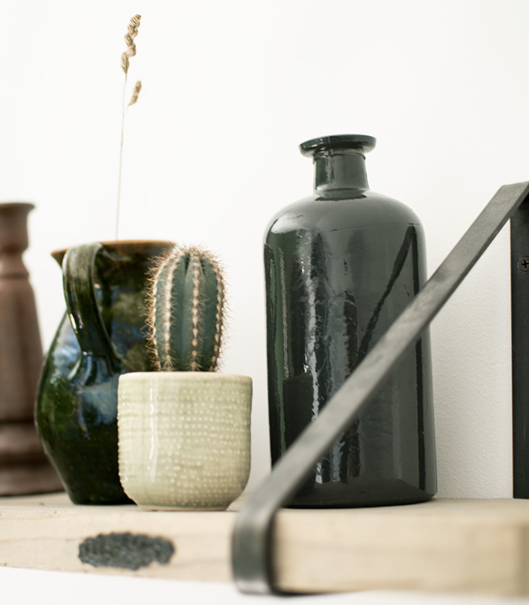 Binnenkijken-Scandinaviach-interieur-Zwart-wit-interieur-groen-wonen-groen-interieur-industrieel-interieur-industriele-woonstijl-planten-interieur