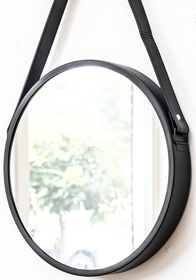 zwarte ronde spiegel zwarte spiegel ronde spiegel zwart ronde spiegels spiegel zwart rond scandinavische wanddecoratie
