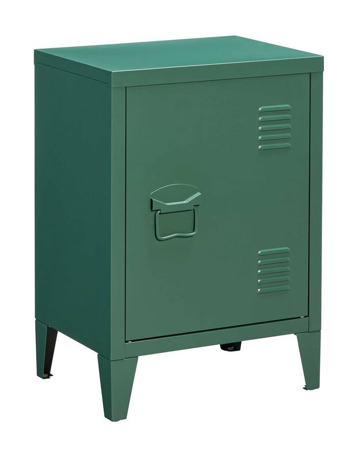 Grijze locker goedkope locker industriele kast slaapkamer industrieel koopje industrieel interieur groene locker groene kast