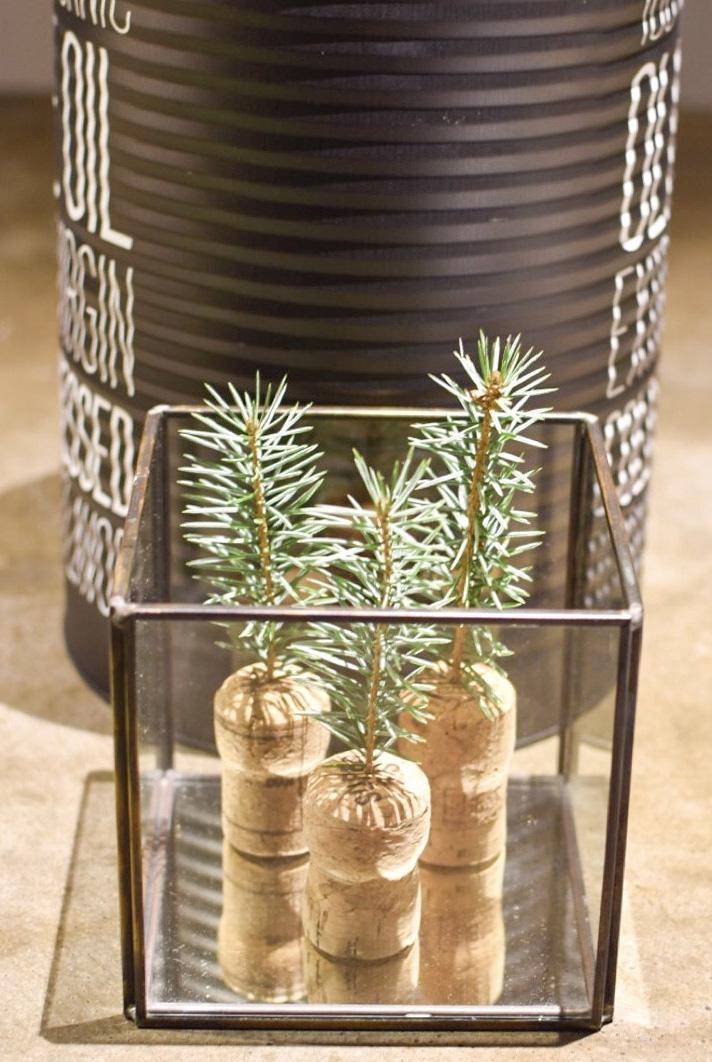 diy-kerst-kerstversiering-kerstdecoratie-binnen-natuurlijke-kerstdecoratie-originele-kerstversiering-decoratie-kerst-kerstdecoratie-vensterbank kleine kerstboom