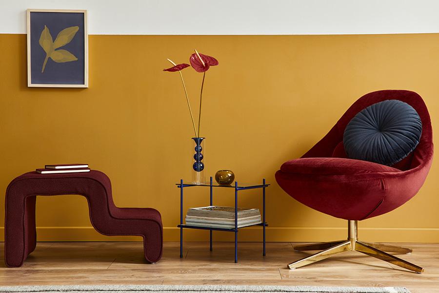 okergele woonkamer okergele muur okergeel interieur okergeel combineren kleuren muur okergeel okergeel accessoires woonkamer okergele muur combineren
