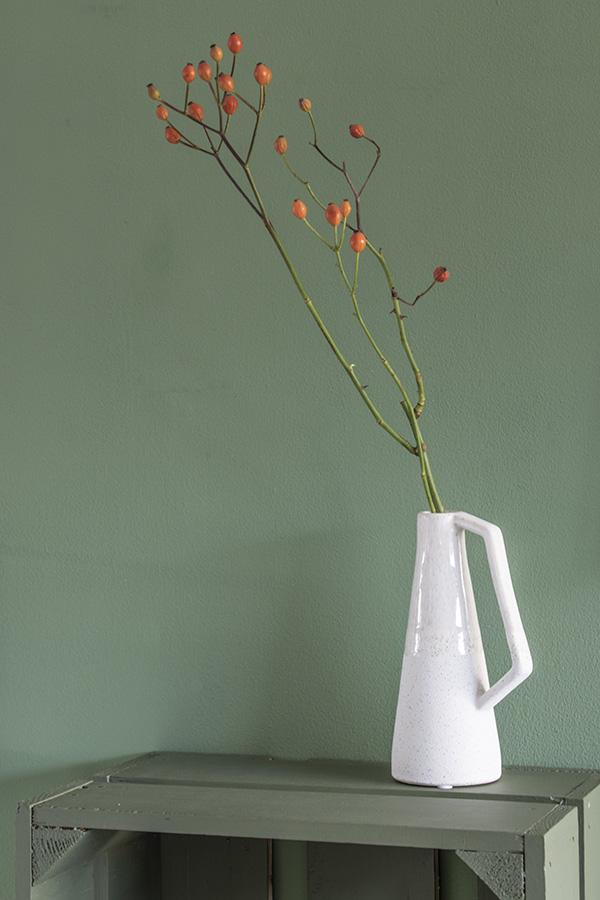 tak in vaas decoratie takken in vaas Bloesemtakken in vaas Magnolia takken in vaas Rozenbottel takken in vaas Bessentakken in een vaas Kunsttakken in vaas vaas met takken takken voor in vaas