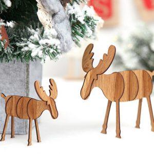Houten-hertjes-industriele-decoratie-kerstdecoratie-hout-industrieel-interieur-industriele-woonaccessoires
