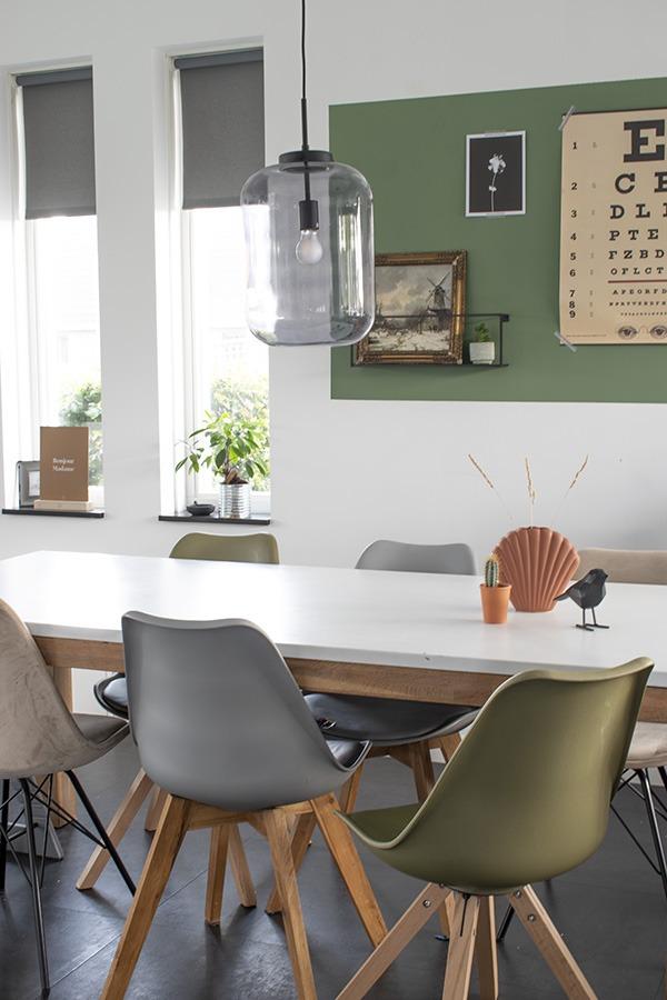 Eetkamer Inrichten Groen Witte Eetkamer Met Terracotta Decoratie 100 Woongeluk