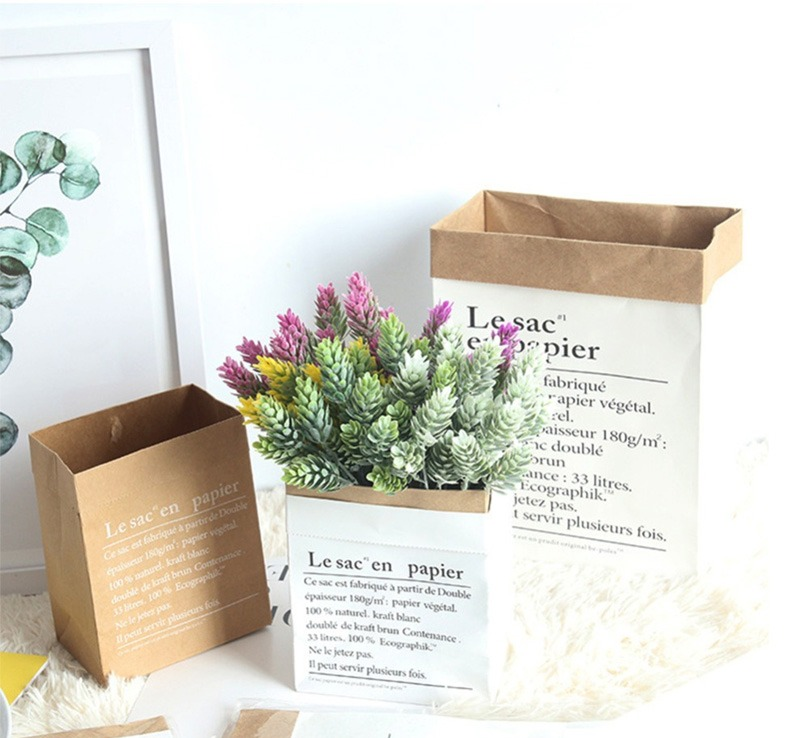 papieren plantenzak leren plantenzak plant in zak plantenzakken plantenzak muur planten in zak witte plantenzak